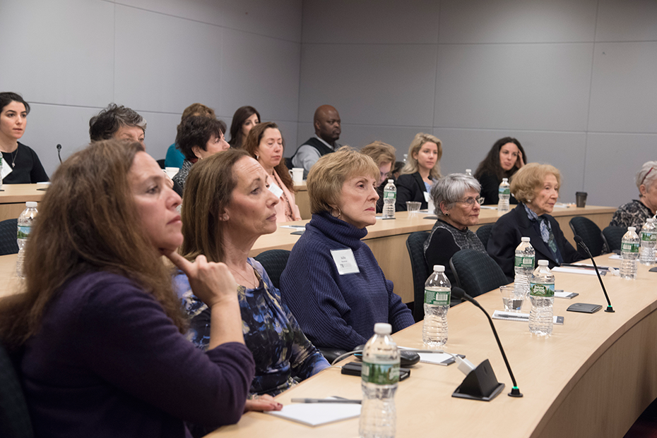 Women for Science event audience in NYC