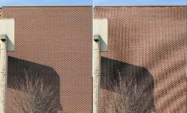 Aliasing produces non-real distortions of digitized images (Photo: C. Burnett)